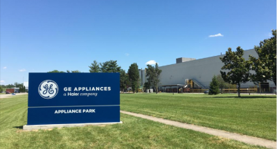 GE appliances a haier company appliance park front signage